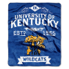 NCAA Kentucky Wildcats 50x60 Raschel Throw Blanket