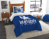 NCAA Kentucky Wildcats Twin Comforter Set