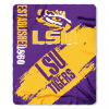 NCAA LSU Tigers 50x60 Fleece Throw Blanket