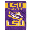 NCAA LSU Tigers OVERTIME 60x80 Super Plush Throw