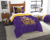 NCAA LSU Tigers Twin Comforter Set