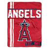 MLB Los Angeles Angels 50x60 Micro Raschel Throw