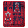 MLB Los Angeles Angels 50x60 Fleece Throw Blanket