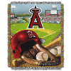 MLB Los Angeles Angels Home Field Advantage 48x60 Tapestry Throw
