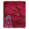 MLB Los Angeles Angels 50x60 Raschel Throw
