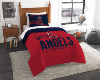 MLB Los Angeles Angels Twin Comforter Set