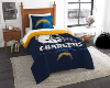NFL Los Angeles Chargers Twin Comforter Set