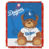 MLB Los Angeles Dodgers Baby Blanket
