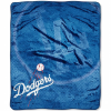 MLB Los Angeles Dodgers 50x60 Raschel Throw