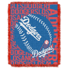 MLB Los Angeles Dodgers 48x60 Triple Woven Jacquard Throw
