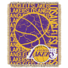 NBA Los Angeles Lakers 48x60 Triple Woven Jacquard Throw