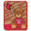 NCAA Louisville Cardinals Baby Blanket