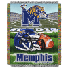 NCAA Memphis Tigers Home Field Advantage 48x60 Tapestry Throw