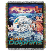 NFL Miami Dolphins Home Field Advantage 48x60 Tapestry Throw