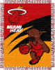 NBA Miami Heat Baby Blanket