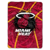 NBA Miami Heat SHADOW 60x80 Super Plush Throw