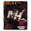 NBA Miami Heat REFLECT 50x60 Raschel Throw