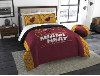 NBA Miami Heat QUEEN Comforter and 2 Shams