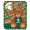 NCAA Michigan State Spartans Baby Blanket