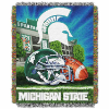NCAA Michigan State Spartans Home Field Advantage 48x60 Tapestry Throw