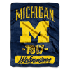 NCAA Michigan Wolverines 50x60 Micro Raschel Throw