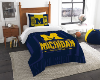 NCAA Michigan Wolverines Twin Comforter Set