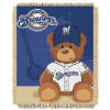 MLB Milwaukee Brewers Baby Blanket