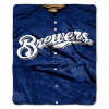 MLB Milwaukee Brewers 50x60 Raschel Throw