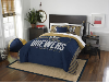 MLB Milwaukee Brewers QUEEN Comforter and 2 Shams