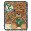 NBA Milwaukee Bucks Baby Blanket