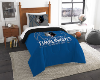 NBA Minnesota Timberwolves Twin Comforter Set