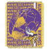 NFL Minnesota Vikings SPIRAL 48x60 Triple Woven Jacquard Throw