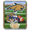 NCAA Montana State Bobcats Home Field Advantage 48x60 Tapestry Throw