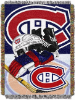 NHL Montreal Canadiens Home Ice Advantage 48x60 Tapestry Throw