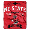 NCAA NC State Wolfpack 50x60 Raschel Throw Blanket