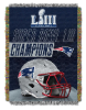 NFL New England Patriots Super Bowl 53 Champions Commemorative Tapestry