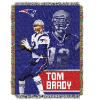 NFL New England Patriots Tom Brady 48x60 Tapestry Throw