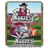 NCAA New Mexico State Aggies Home Field Advantage 48x60 Tapestry Throw
