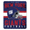 NFL New York Giants 50x60 Fleece Throw Blanket