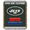 NFL New York Jets Commemorative 48x60 Tapestry Throw