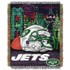 NFL New York Jets Home Field Advantage 48x60 Tapestry Throw