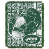 NFL New York Jets SPIRAL 48x60 Triple Woven Jacquard Throw