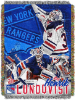 NHL New York Rangers Hendrick Lundqvist 48x60 Tapestry Throw