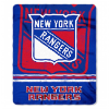 NHL New York Rangers 50x60 Fleece Throw Blanket