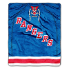 NHL New York Rangers JERSEY 50x60 Raschel Throw