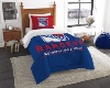NHL New York Rangers Twin Comforter Set