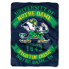 NCAA Notre Dame Fighting Irish 60x80 Super Plush Throw