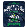 NCAA Notre Dame Fighting Irish 50x60 Raschel Throw Blanket