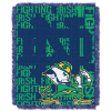 NCAA Notre Dame Fighting Irish FOCUS 48x60 Triple Woven Jacquard Throw
