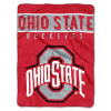 NCAA Ohio State Buckeyes 60x80 Super Plush Throw